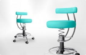 Krzesło ergonomiczne dla lekarzy specjalistów i stomatologów - SpinaliS Dent - Zdrowe krzesło do gabinetu i kliniki