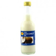 Czysty olej kokosowy