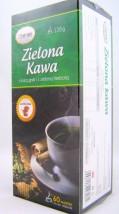 Zielona kawa z łuską gryki i zieloną herbatą