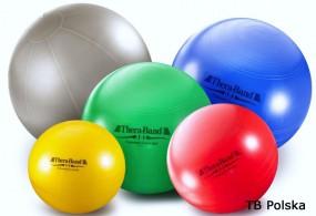 Duża piłka gimnastyczna niebieska 75 cm