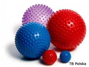 Duża piłka sensoryczna ABS 100 cm