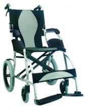 Wózek inwalidzki aluminiowy podróżny KM-2501
