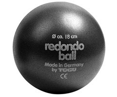 Piłka redondo czarna 18cm