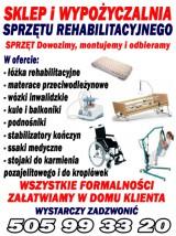 Wypożyczalnia sprzętu medycznego i rehabilitacyjnego ALLMED Łódź 505 99 33 20