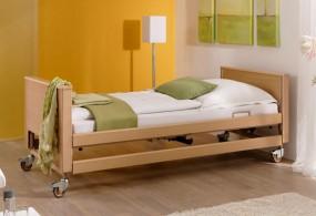 Łóżko medyczne, rehabilitacyjne ARMINIA III na pilota z barierkami bocznymi.