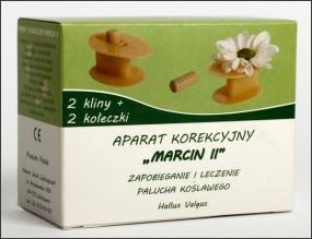 Aparat korekcyjny MARCIN II na stopy (chodzenie)