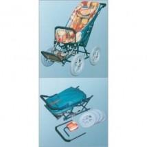 Wózek inwalidzki ręcznie kierowany 5075-136
