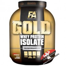 FITNESS AUTHORITY Gold Whey Protein Isolate - 2270g