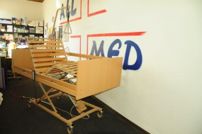 Łóżko rehabilitacyjne Burmeier WESTFALIA z materacem piankowym do 120kg