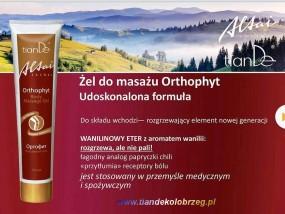 """Żel do masażu """"Orthophyt"""" oraz żel na żylaki Slaviton Ałtaj"""