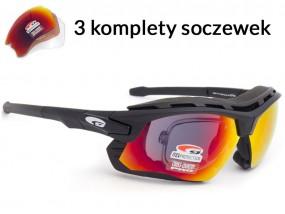 Okulary sportowe korekcyjne Goggle T637-1R