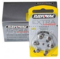 10/PR70 - 60 x baterie do aparatów słuchowych Rayovac Extra Advanced 1