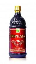 Triphala z Indii w płynie Sok 100% Triphala wyciskana z owoców