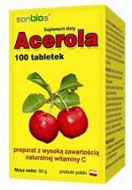 ACEROLA 100 tabletek po 500mg