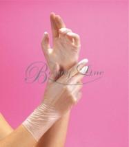 Rękawiczki winylowe bezpudrowe S