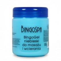 Bingo żel niebieski do masażu bóle mięśni i stawów, reumatyzm