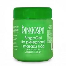 Bingo gel zielony, z kasztanowca na pękające naczynka, ciężkie nogi