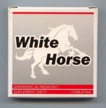 Zestaw WhiteHorse 5 x 1 tabl. Tabletka na potencję Silna erekcja 48h
