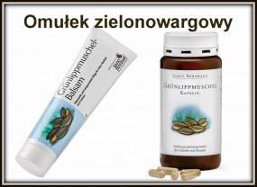 Omułek zielonowargowy balsam lub kapsułki