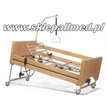 Łóżko rehabilitacyjne elektryczne Vermeiren LUNA sterowane pilotem z barierkami bocznymi