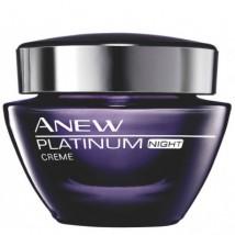 AVON Krem na noc Anew Platinum - 50 ml