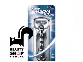 Gillette Mach 3 Turbo + 2 wkłady Maszynka
