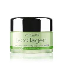 krem przeciwzmarszczkowy 35+na dzień Lekki krem przeciwzmarszczkowy na dzień Ecollagen Wrinkle Correcting