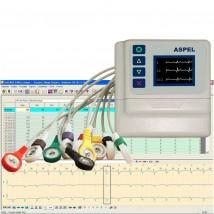 Holter EKG AsPEKT 712 v.301 z oprogramowaniem - holcard 24 W