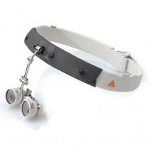 Lupa okularowa C 2,3x/450 na opasce czołowej w walizeczce