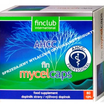 Fin Mycelcaps - ekstrakt AHCC® 200,25 mg
